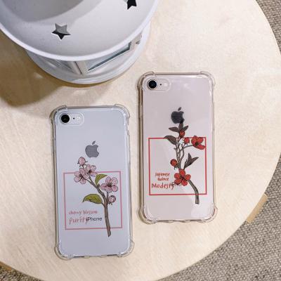 아이폰X/XS flower tree 방탄케이스