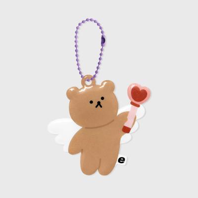 Dot angel bear(PVC키링)