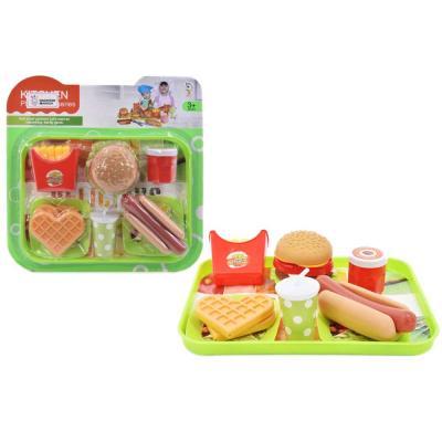 맥킨더 햄버거 +와플 주방 역할놀이
