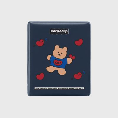 Covy heart-navy(3hole diary)
