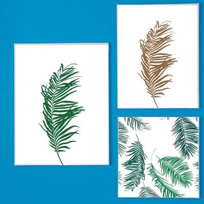 나뭇잎 캔버스