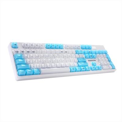 GEEKSTAR 카일 광축 크리스탈 키캡 LED 게이밍 키보드 GK802-2