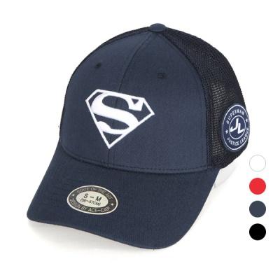 [디꾸보]에스 자수 투 사이즈 메쉬 볼캡 모자 AC607