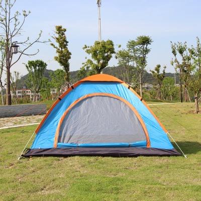 3-4인용 이지캠핑 자동 원터치 텐트