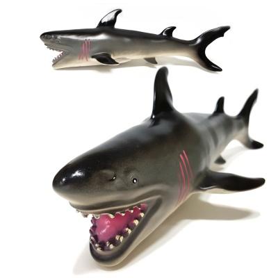 소프트 해양 (중) 상어 모형 피규어 교육용 완구