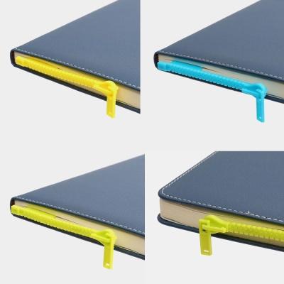 지퍼마크 2개 색상랜덤 책갈피 북마크 디자인 북클립