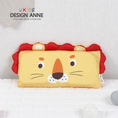 [디자인엔] 순면 사자 키즈메모리폼베개