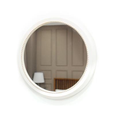 (kcp068)심플원형 벽거울 (화이트골드)