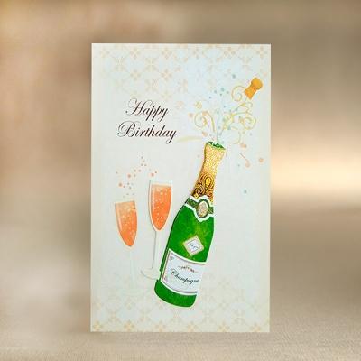 Happy Birthday_GK162 생일축하샴페인