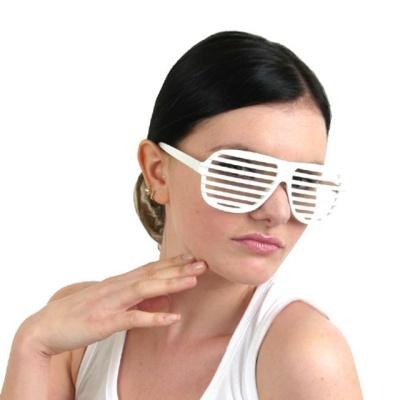 셔터 쉐이드안경-화이트