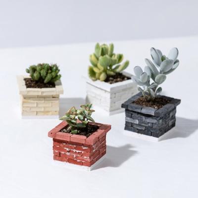 [리얼브릭] DIY 미니어처 화단 S