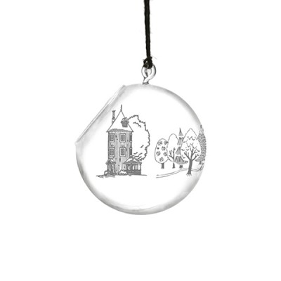 [Muurla] Muurla Moomin Decoration ball big Moominvalley dia15 cm 710-150-00 오너먼트