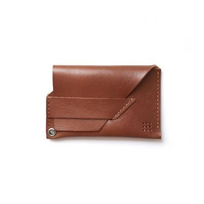 201 카드 파우치 (brown)