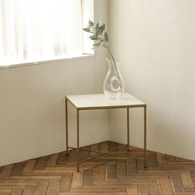 [밀란] 사각 대리석 테이블