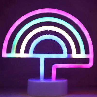 LED 네온전구 조명등 (레인보우 / 4색)
