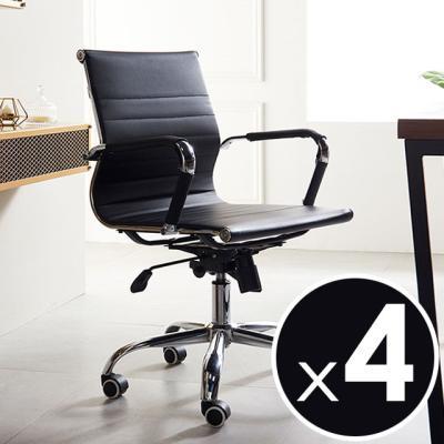 코모도의자 중형 4개 책상 회의용 체어
