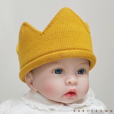 [Baby Crown] 베이비크라운 아기왕관 모자 쁘띠 (골드)
