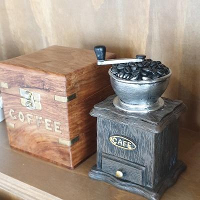 엔틱 데코 커피 그라인더