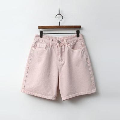 Dyeing Denim Shorts