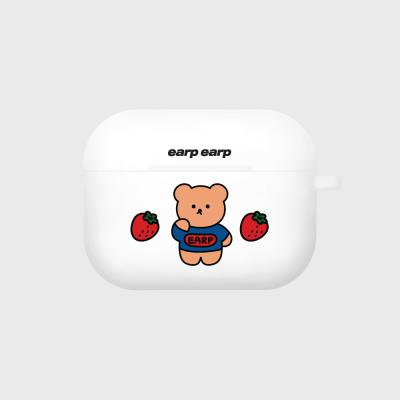 strawberry bear-white(Air pods pro case)