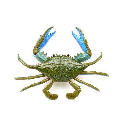 269729 블루크랩 해양동물피규어