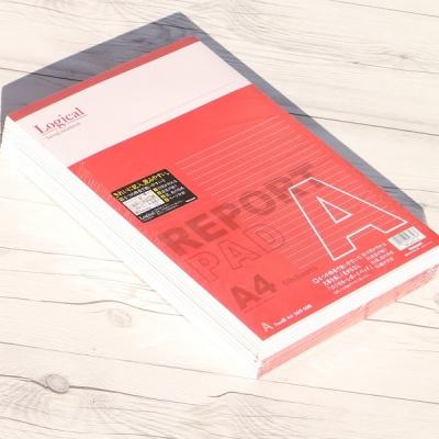 A4 50매×10권/팩 논리노트 고급 레포트용지..나카바야시 로지컬 레포트패드 d-11s