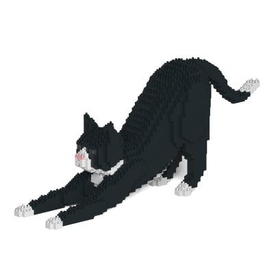 [JEKCA] 스트레칭 고양이레고 (턱시도)