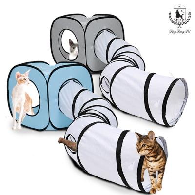딩동펫 고양이 터널하우스 큐브터널