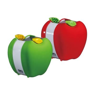 DELI 델리 3D 사과 연필꽂이 펜꽂이