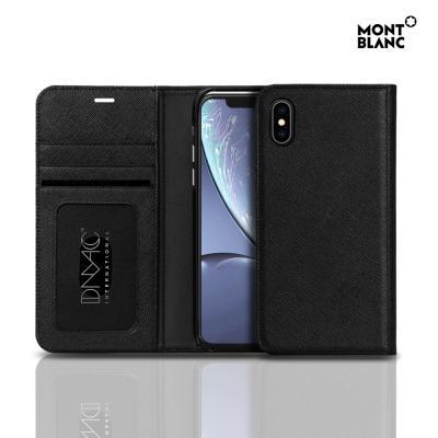 몽블랑 아이폰XR 플립커버 사피아노 뷰 핸드폰케이스