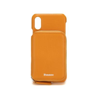 FENNEC iPHONE X/XS MINI POCKET CASE - MANDARIN