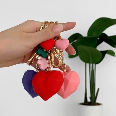 지갑 에어팟 키링 열쇠고리 조각 하트 pr-8127