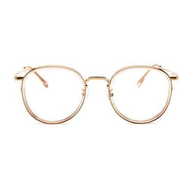 shine 투명 핑크 얇은테 안경 뿔테 패션안경 안경테