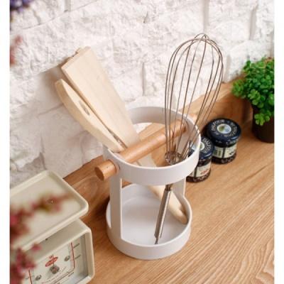 [2HOT] 화이트 모던 키친 툴 꽂이