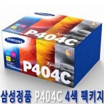 삼성 정품 토너 CLT-P404C (4색 세트) CLT P404C