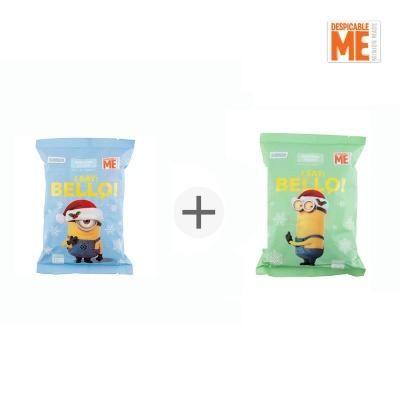 미니언즈 휴대용 핫팩 특대형 10매입+파스형 10매입