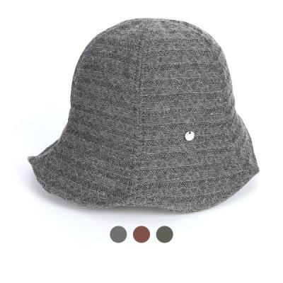 [디꾸보]코튼 마름모 스티치 벙거지 모자 AC847