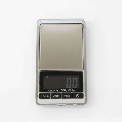 휴대용 소형 전자저울 500x0.1g 초정밀저울 정밀저