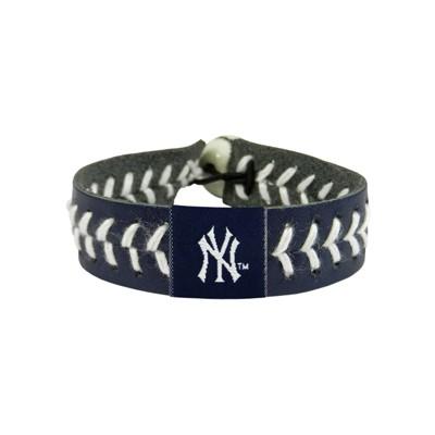 New York Yankees Team Color Baseball Bracelet