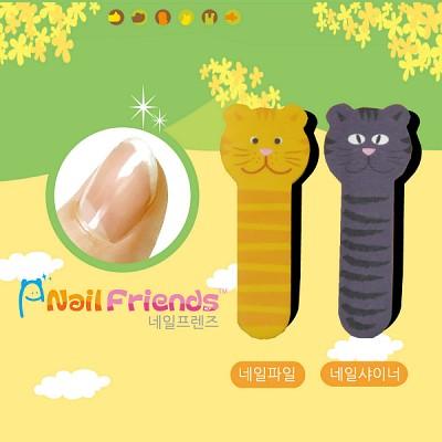 네일파일 and 샤이너 (Bear and Cat Friends-cat1)