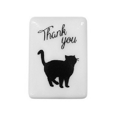 실루엣 스탬프 G 시리즈 : 고양이 (Thank You)
