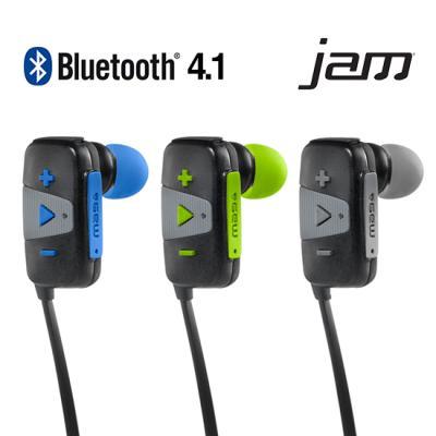 HMDX&JAM 스포츠 블루투스 방수 이어폰
