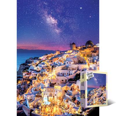 1000피스 직소퍼즐 별밤의 산토리니 AL3015