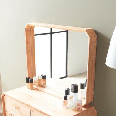 벌집G 팔각 화장대거울 원목 벽거울