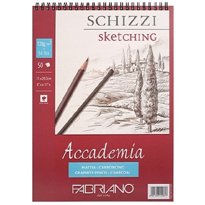 아카데미아 스케치북 AP06 [스프링형](A3)-120g