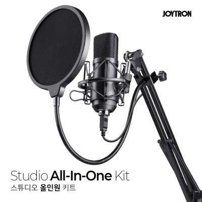 JOYTRON 스튜디오 올인원 키트 (1인 미디어 방송장비)