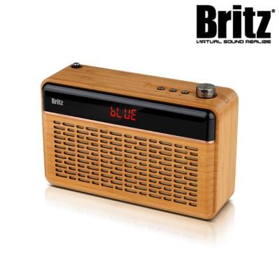 브리츠 휴대용 무선 블루투스 스피커 BZ-W260 (대나무재질 / 듀얼52mm )