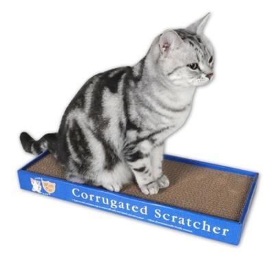 양면으로 사용 가능한 고양이 발톱 평판 스크레쳐
