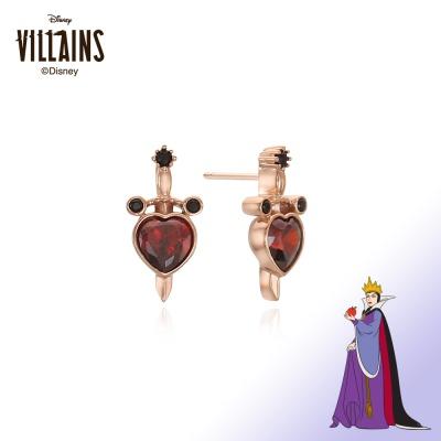 [디즈니 빌런] 이블퀸 실버 귀걸이