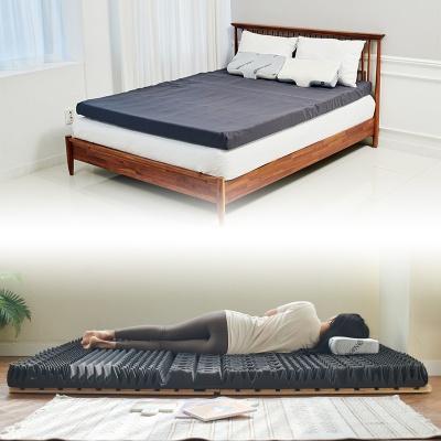 7cm 프리미엄 14존 접이식 토퍼 3D 침대 매트리스